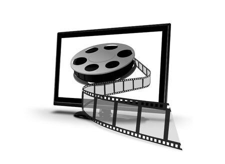 entertaiment: Home entertaiment VOD Stock Photo
