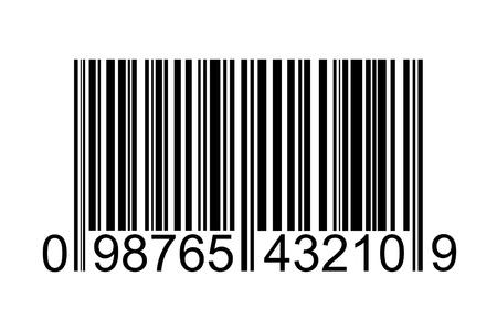 ordinal: barcode Stock Photo
