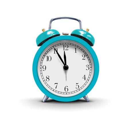 despertador: Alarma en blanco