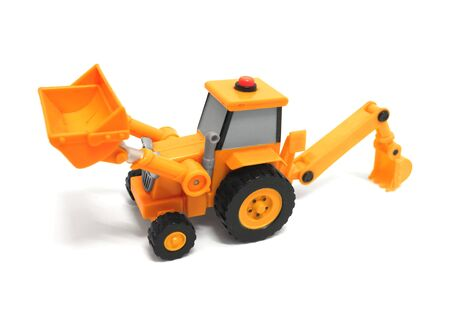 Toy backhoe photo