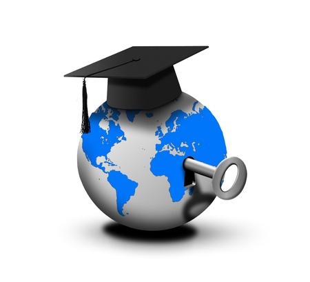 educacion ambiental: La clave del ?xito Foto de archivo