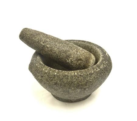 stone bowl: Stone Mortar and Pestle