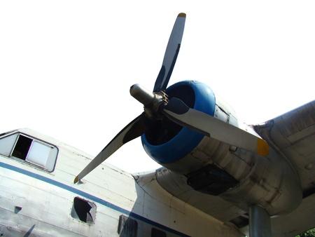 propel: Propel Air Craft Stock Photo