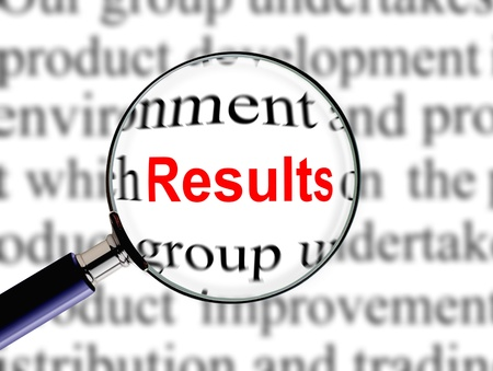 business results: Magnifying on Word Results