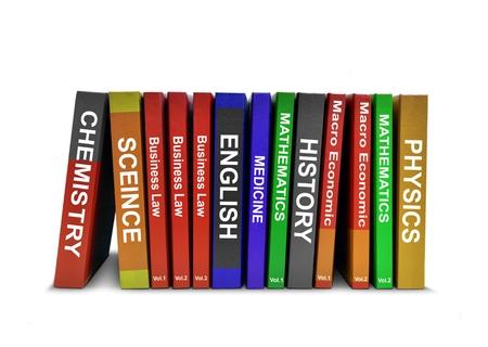 handbook: Row of Education Books