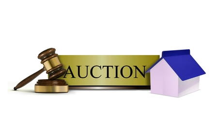 Property Auction Sign photo