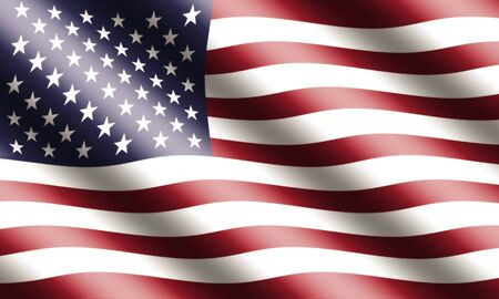 american flag waving: American Flag Waving
