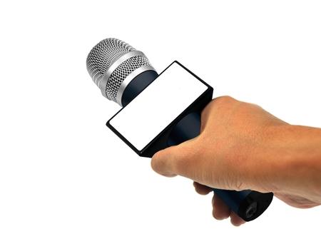 뉴스 인터뷰 스톡 콘텐츠 - 29688891