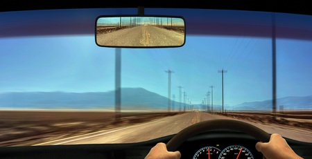 Driver Windscreen Point of View photo