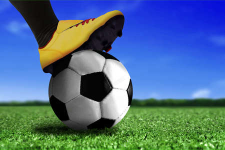 soccer boots: Soccer Boots on Ball