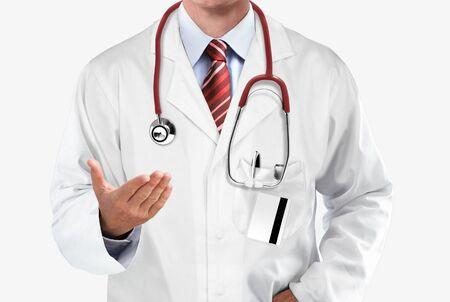 医師のアドバイスを与えて