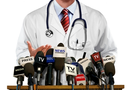 the news: Doctor Press and Media Conference