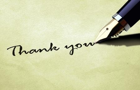 merci: Merci � texture vieux papier