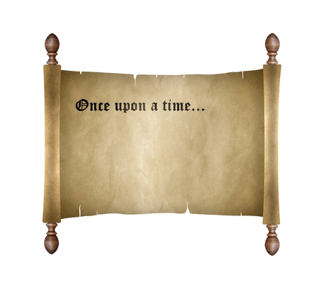 Scroll with once upon a time