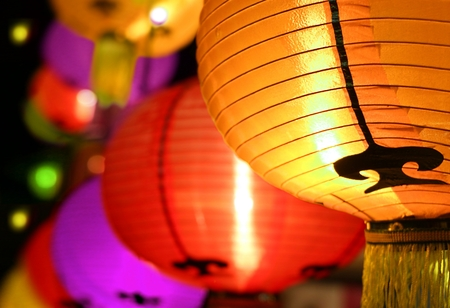 colorful lantern: Colorful Lantern festival