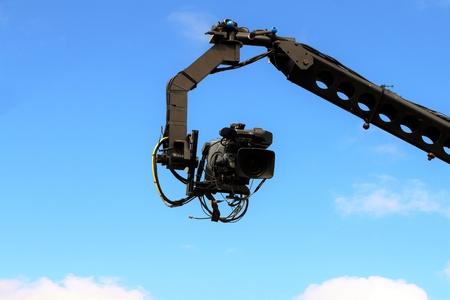 jib: Camera on crane shooting