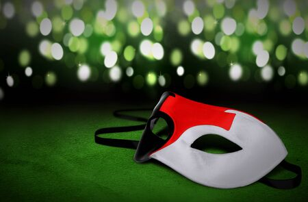 masquerade masks: Masquerade masks with blur light background