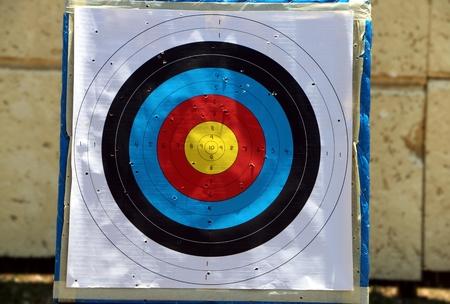 target practice: Target practice board