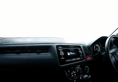 車のダッシュ ボード 写真素材