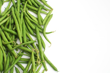 Frame from green beans vegetables Stock Photo - 14878459