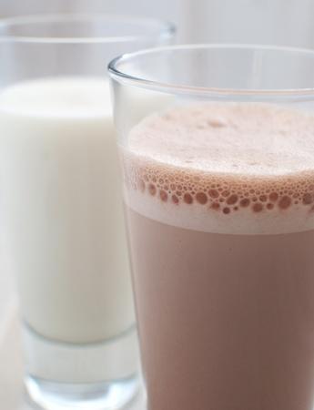 regular: Cioccolato e latte normale Archivio Fotografico