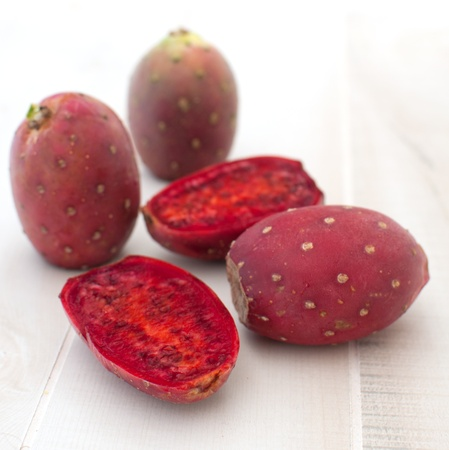 Cactus fruit pear exotic vertical