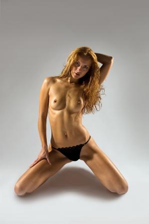 wet breast: Shot of beautiful sexy girl