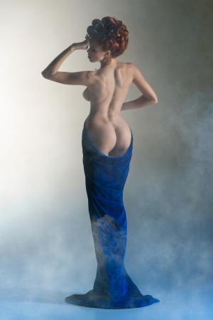 Mooie lichaam van de jonge vrouw