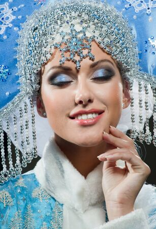 Smile of the beautiful queen Stock Photo - 16947876