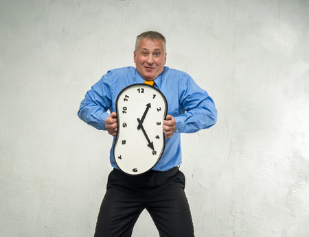 endlessness: Compressed clock in the hands of man