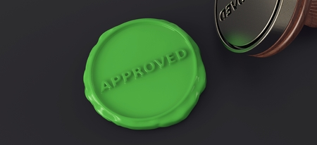 approved: Approved Seal