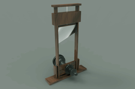 guillotine: Execution of a King
