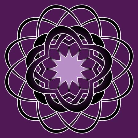 Tribal art geometric print seamless pattern background. Illustration