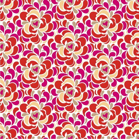 adolescent: Abstract rose. Rozy.Tsvetochnye Beautiful seamless pattern with blooming roses