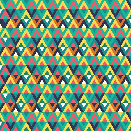 adolescent: Geometric background. Multi-colored crystals