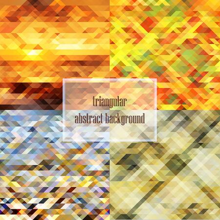 adolescent: Abstract square wallpaper Illustration