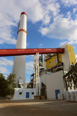 Alumina processing plant Stockfoto