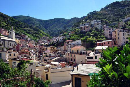 Riomaggiore fishermen village in Cinque Terre, Italy Stock Photo - 8064573