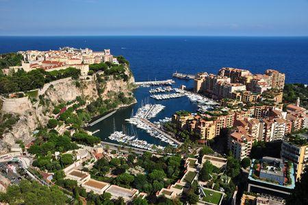 Monte Carlo seen from the Exotic Garden photo