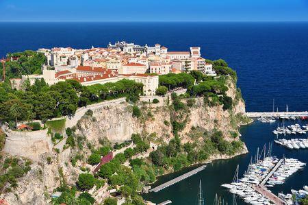 monte carlo: Monte Carlo seen from the Exotic Garden