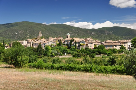 Small medieval beutiful village in Provence, France