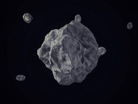 planetoid: MeteoritesRocks floating on outer space