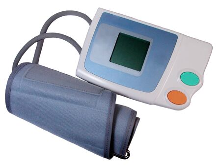 Electronic tensiometer-over white Stock Photo - 539926