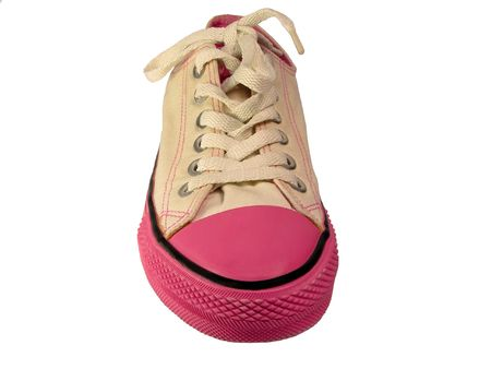 Funny sneaker isolated over white background. Stock Photo - 566542