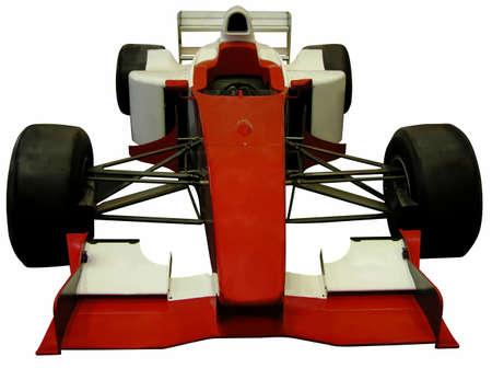 Formula one car isolated over white background Stock Photo - 562572