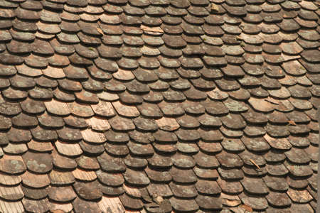 useful: Detail of a traditional roof generating an useful background