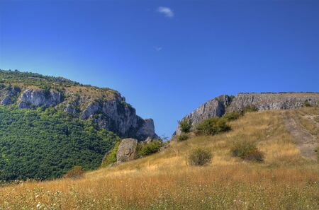 natural landmark: Landscape from Turda,s canyon an important natural Landmark from Transylvania,Romania.