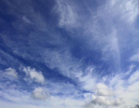 immaterial: Beautiful blue cloudy sky.