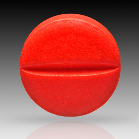 Pill isolated on background with clipping path Stok Fotoğraf