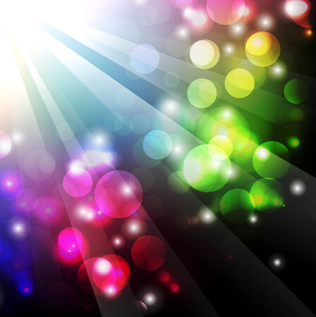 abstract bright multicolored background Stock Vector - 8143685
